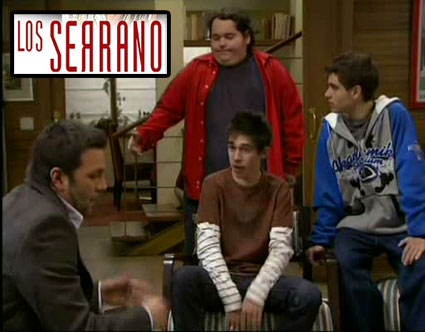 Juan Martín Gravina personaje «Los Serrano»
