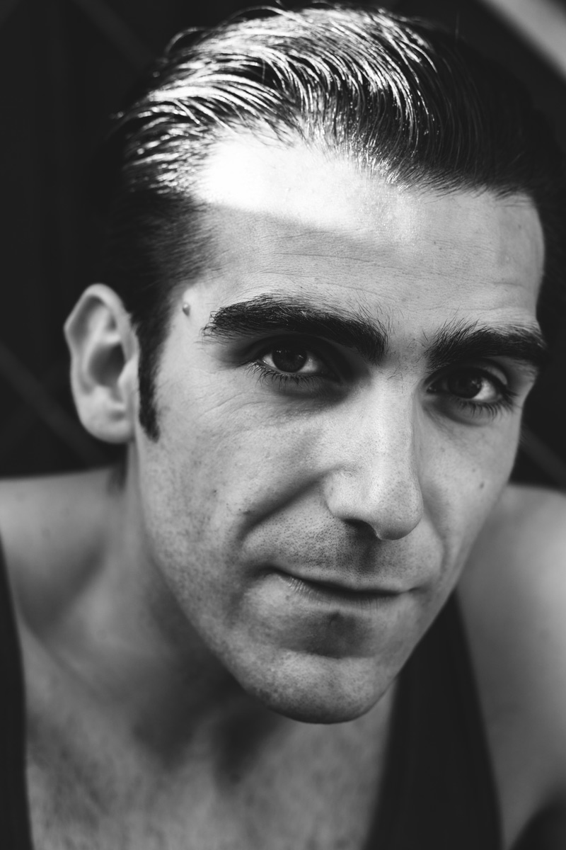 Guillermo Serrano actor Marco Gadei 2018