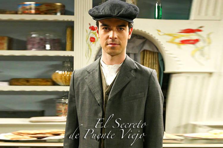 """Ander Azurmendi Personaje """"El secreto de Puente Viejo"""""""