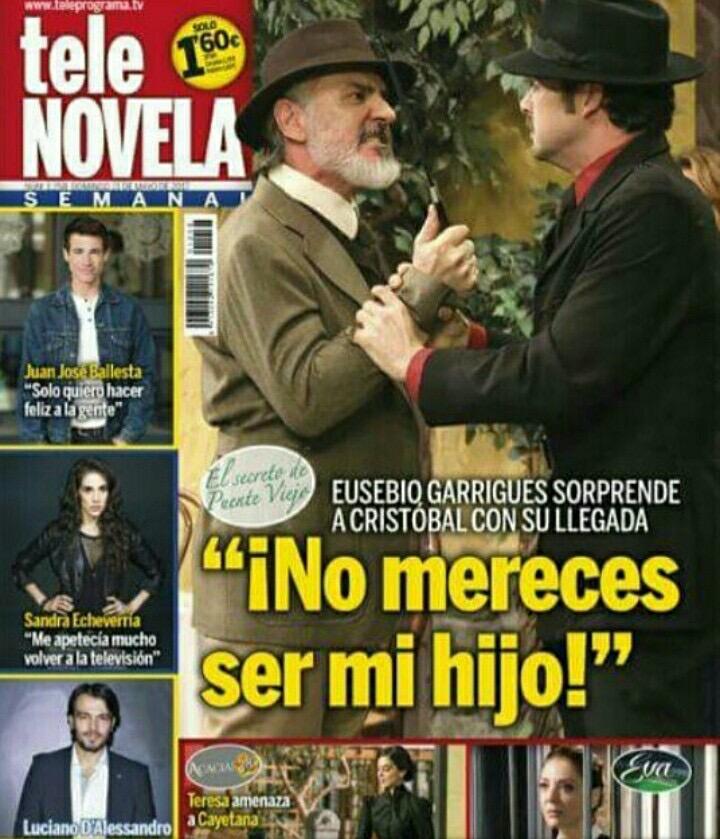"""Julio Vélez """"El Secreto de Puente Viejo"""""""
