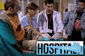 "Juan Martín Gravina personaje ""Hospital Central"""