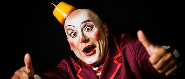 Miguel Berlanga personaje Cirque du Soleil
