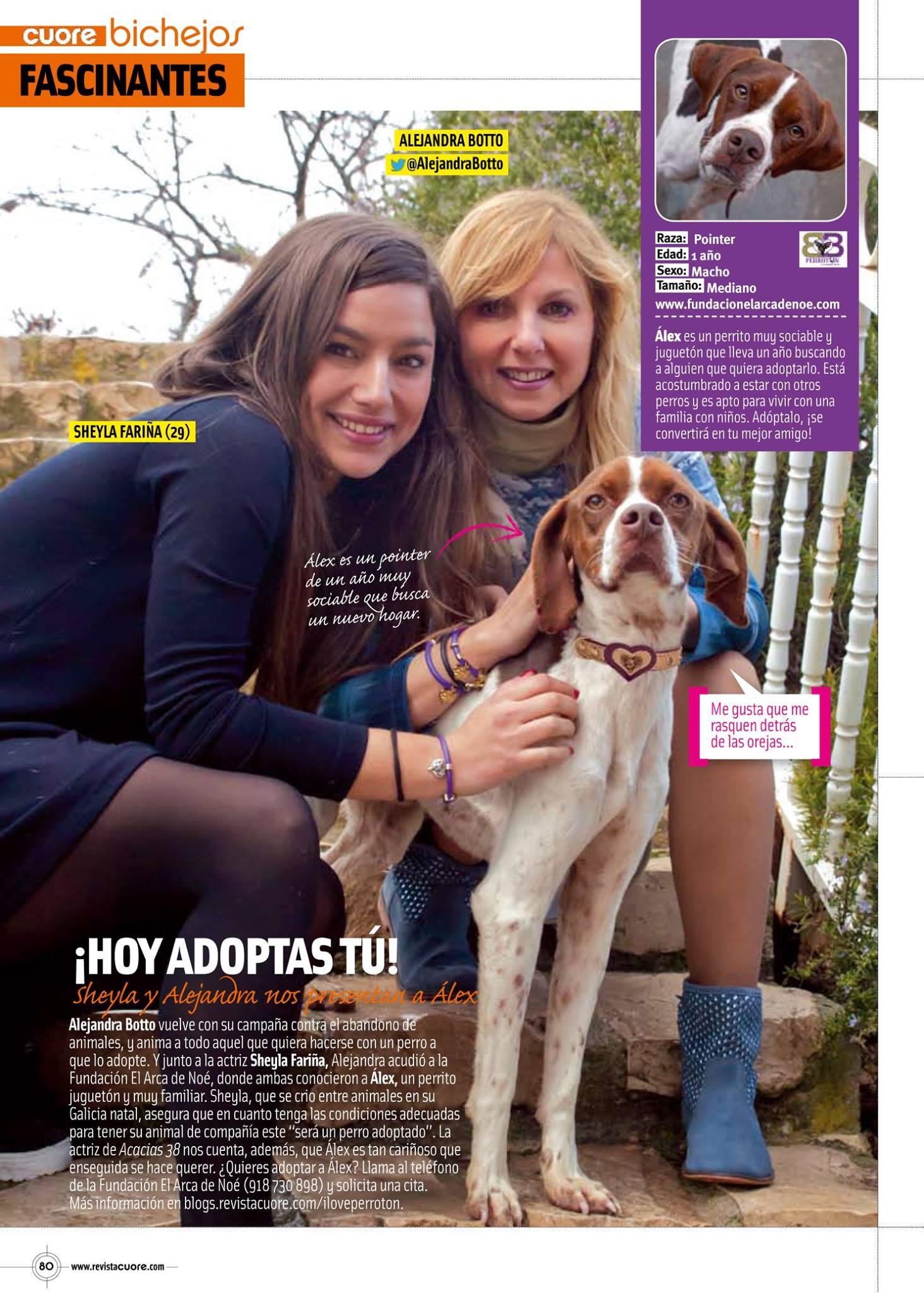 Sheyla Fariña «Hoy adoptas tú»
