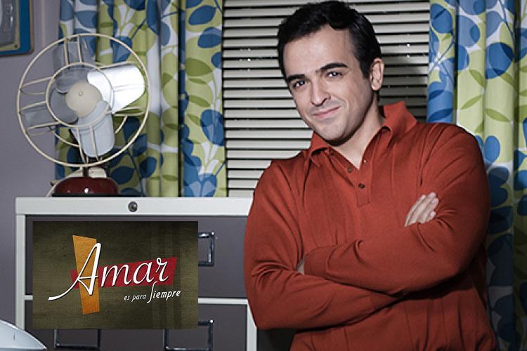 """Enrique Berrendero personaje """"Amar es para Siempre"""""""