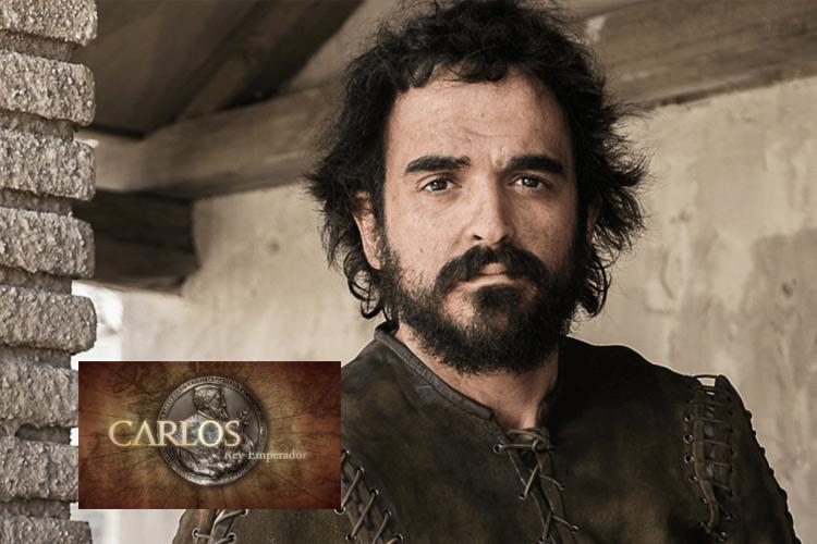 """Enrique Berrendero personaje """"Carlos V"""""""