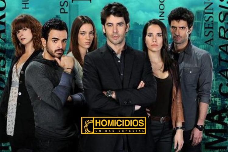 """Enrique Berrendero personaje """"Homicidios"""""""