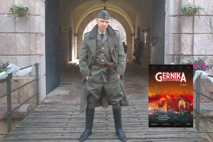 Algis Arlauskas personaje «Gernika bajo las bombas»
