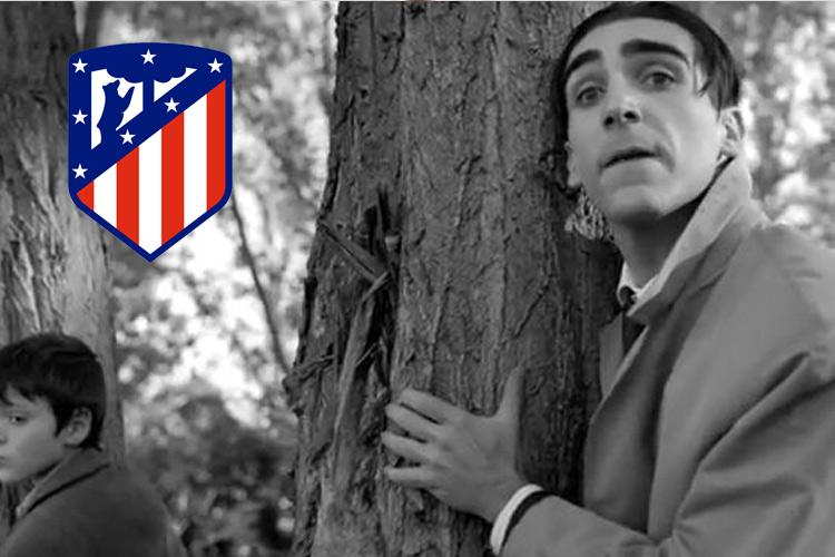 "Guillermo Serrano personaje ""Spot Atlético de Madrid"""