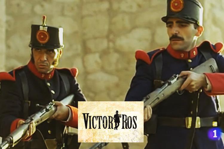 """Guillermo Serrano personaje """"Victor Ros"""""""
