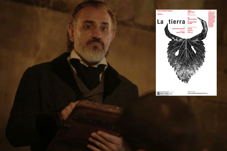 Julio Vélez personaje «La Tierra»