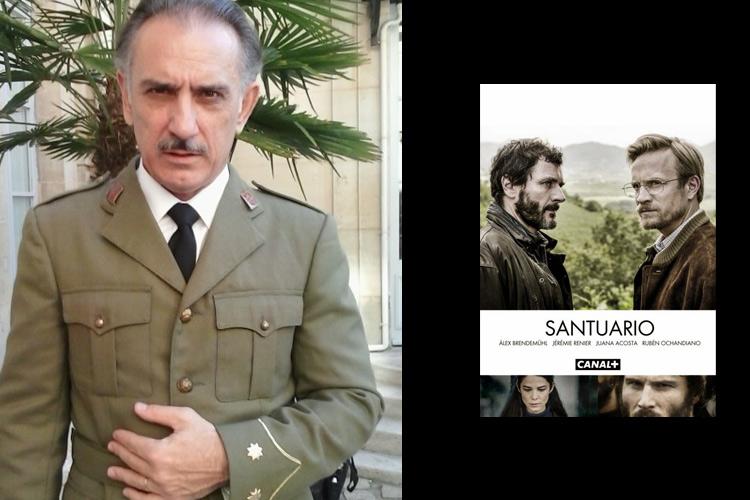 Julio Vélez personaje «Santuario»