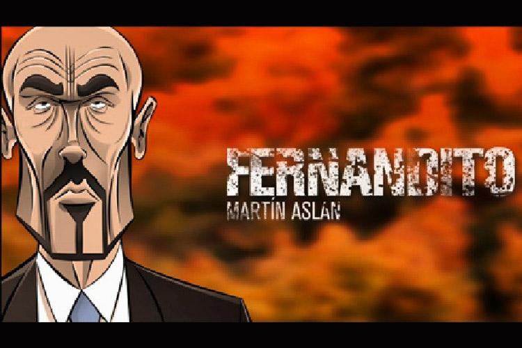 "Martín Aslan personaje ""Fernandito"""