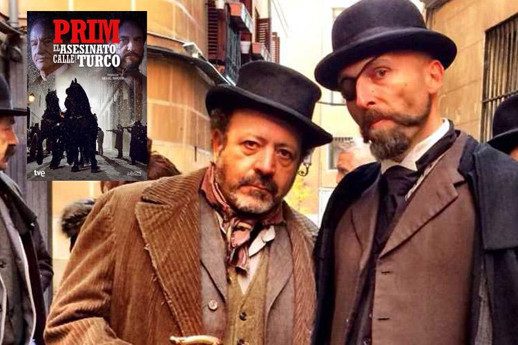 """Martín Aslan personaje """"Prim, el asesinato de la calle del Turco"""""""