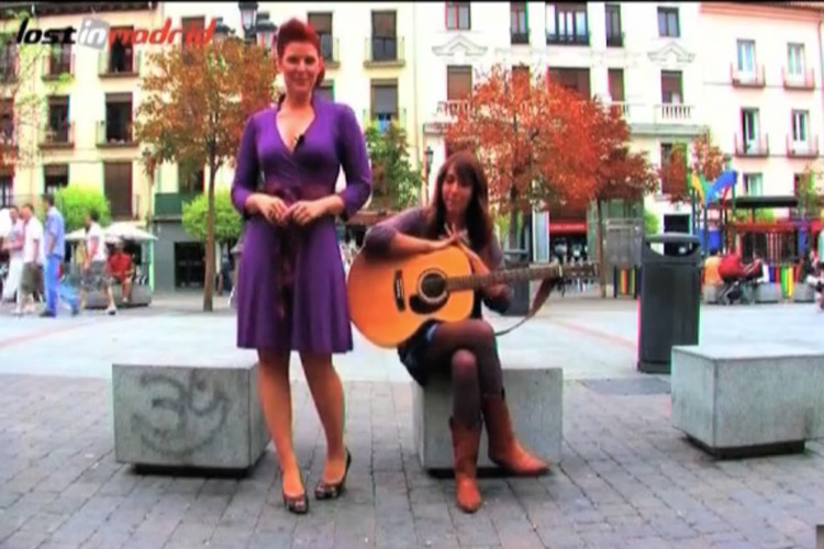 """Verónica Bagdasarian presentadora """"Lost In Madrid"""""""