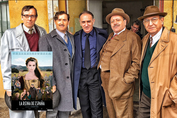 "Julio Vélez personaje ""La reina de España"""