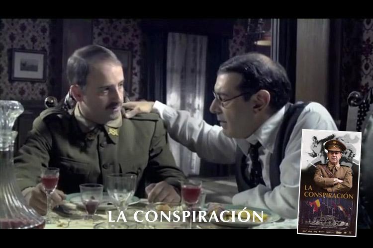 """Iñigo Aranburu personaje """"La Conspiración"""""""