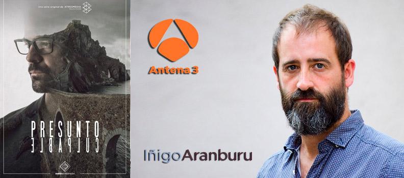 Iñigo Aranburu en Presunto Culpable, actor Marco Gadei