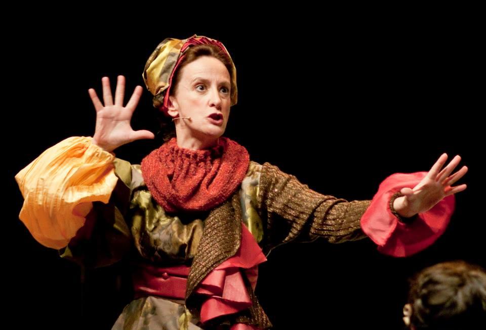 Karmele Aranburu personaje «Don Juan en Alcalá» Brigida