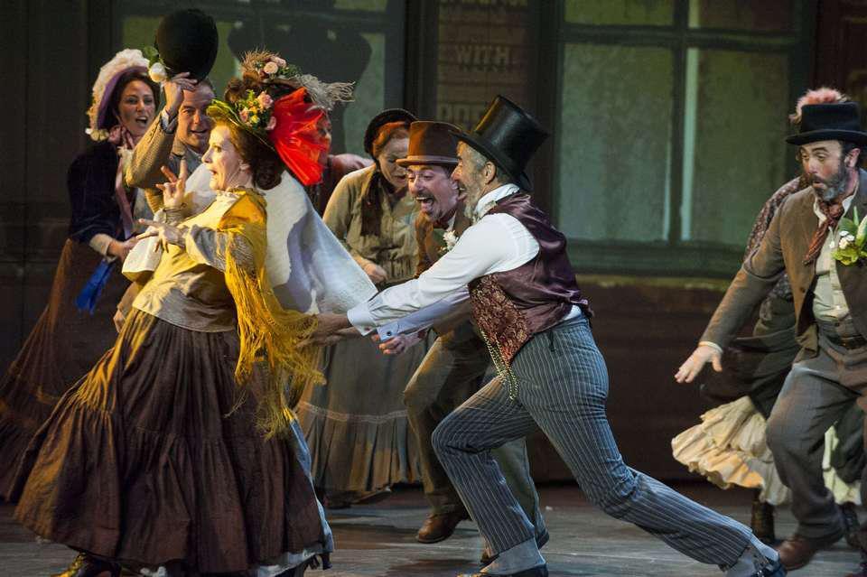 "Karmele Aranburu personaje ""My Fair Lady"" musical"