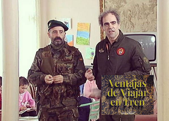 """Iñigo Aranburu personaje """"Ventajas de viajar en tren"""""""